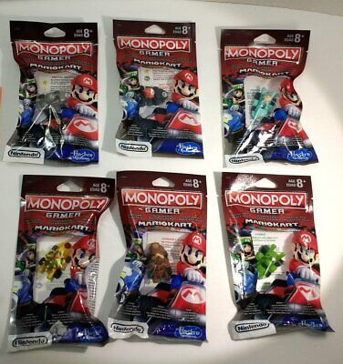 Monopoly Mario Kart Power Pack Gamer Complete Set - NEW SEALED