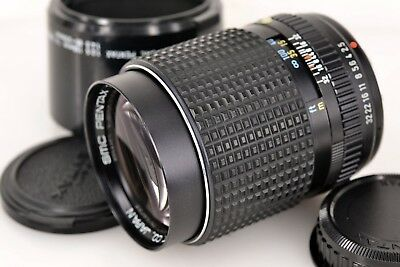 Excellent+++ SMC ASAHI PENTAX 135mm f/2.5 with Hood from Japan