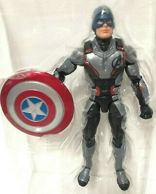 CAPTAIN AMERICA QUANTUM SUIT Marvel Legends AVENGERS ENDGAME ARMORED THANOS WAVE