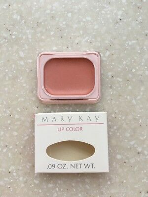 Mary Kay Lip Color Tangerine 1202 Glamour Compact Refill New Old Stock