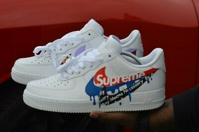 Custom Air Force 1 Nike In Checked kXuiPZ