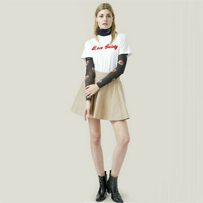 Fashion Women for English Letter Print Round Neck Short Sleeve T-Shirt Tops Tee