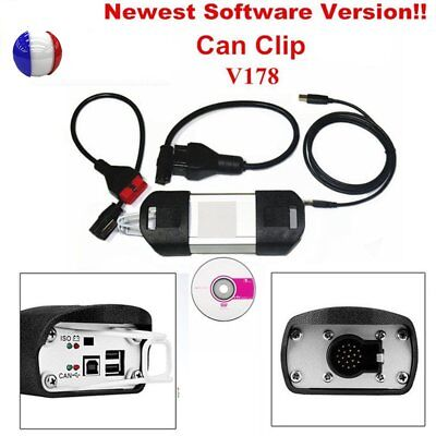 NEW Can Clip V178 for  Diagnose OBD2 Diagnostic Interface Scanner Tool E6