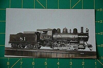 Train Locomotive Builders International & Great Northern RR #81 Negative Photo