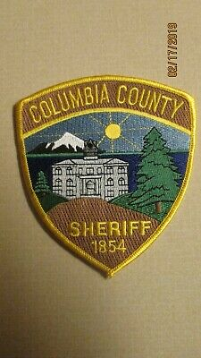 OREGON COLUMBIA COUNTY Sheriff's Office Shoulder Patch New