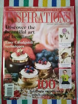 Inspirations Embroidery Magazine - Issue 37 -- 2003 - Excellent Condition