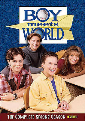 Boy Meets World - The Complete Second Season (DVD, 2010, 3-Disc Set) BRAND NEW!