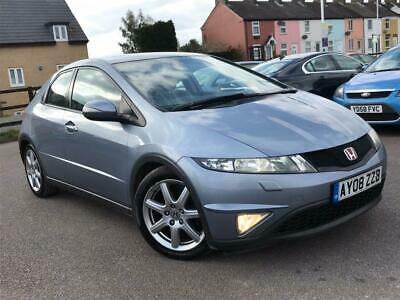2008 Honda Civic 2.2 i-CTDi EX Hatchback 5dr Diesel Manual (140 g/km, 138 bhp)