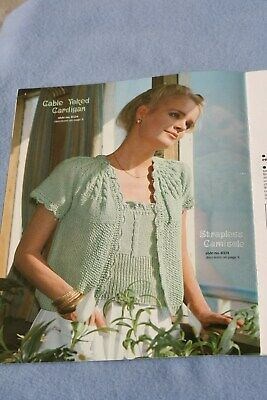 2 Brunswick knitting instruction books with color pictuers and patterns