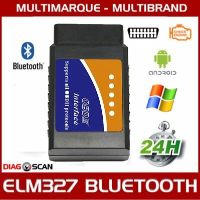 Interface diagnostic multimarque ELM327 USB BLUETOOTH WIFI PRO ELM 327 OBDII@JD