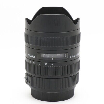SIGMA 8-16mm F4.5-5.6DC HSM (for SONY A) #184