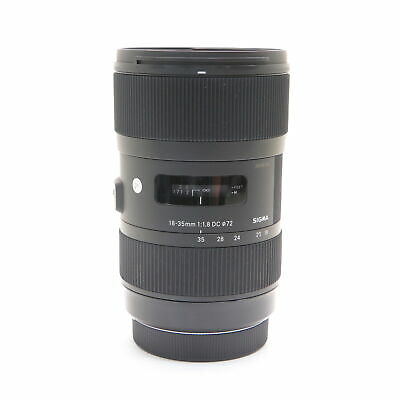 SIGMA A 18-35mm F1.8 DC HSM (for Canon EF-S mount) #185
