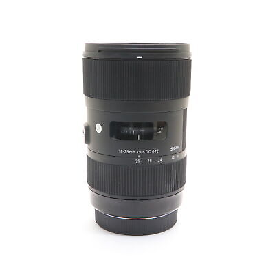 SIGMA A 18-35mm F1.8 DC HSM (for Canon EF-S mount) -Near Mint- #186