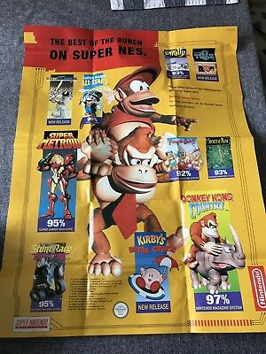 Super Nintendo Snes Console Instructions How To Hook Up Your Console Poster Book