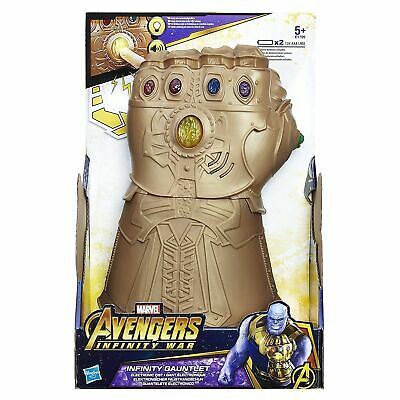 Avengers End Game THANOS Infinity Gauntlet Electronic Figure Marvel Hasbrol Toy