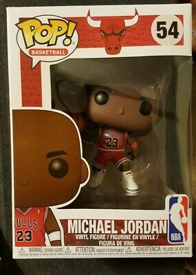 Funko Pop Nba Michael Jordan #54 Basketball *Chicago Bulls Sold Out*Mint Box #23