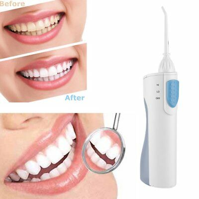 NEW Rechargeable Oral Irrigator Electric Dental Water Flosser Cleaner BG