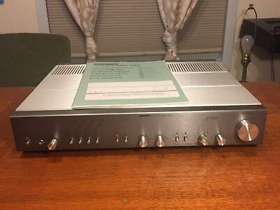 SilverTandberg 3002 Preamp with Manual & Power Cord