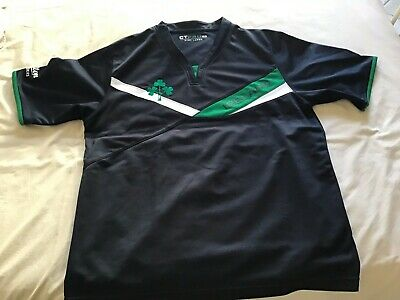 ireland rugby shirt size  L made by ct pro