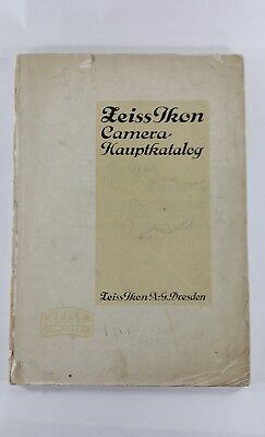 Zeiss Ikon Camera Hauptkatalog.Catalogue.Price.Preisliste.1929.Appareil Photo...