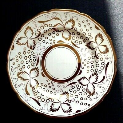 LARGE Vintage GRAYS pottery gold lustre plate Arts & Craft deco 30s 40s retro