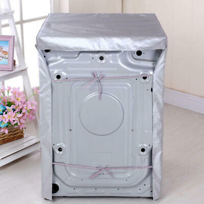 PE Waterproof Washing Machine Cover Dustproof Cover Protections Front Cover
