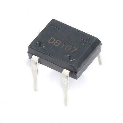 1A 1.5A 2A 1000V Bridge Rectifier DB Single Phase Glass Passivated Diy Diode DIP