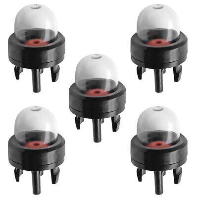 5/Set Primer Bulb Snap-In Pump Gas Bulb for Stihl Weed Eater McCulloch Sears