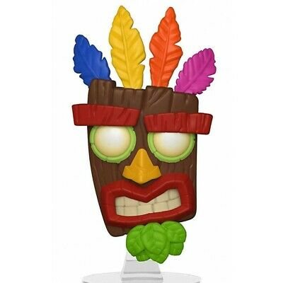 Funko Pop Games Crash Bandicoot - Aku Aku Vinyl Figure New!