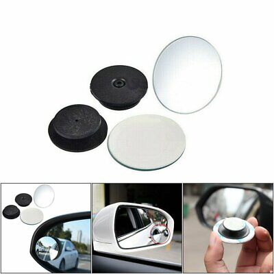 Car Rearview Side Rear View Adjustable Blind Spot Removal Mirror (2pcs) GN
