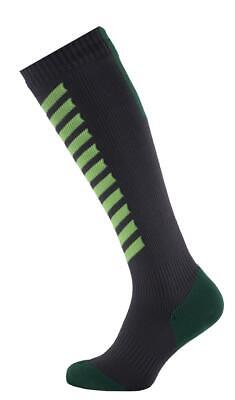 Seal Skinz MTB Mid Knee  Anthracite/Lime/Leaf