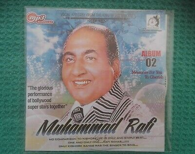 101 x mp3 SONGS BY MUHAMMAD/MOHAMMAD RAFI  MP3 CD MP3 FORMAT  BRAND NEW