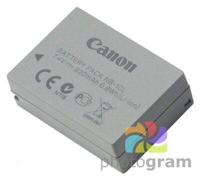 Battery for Canon PowerShot G1 X G3 X G15 G16 SX40 HS SX50 HS SX60 HS IS NB-10L