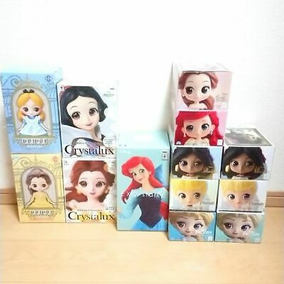 Disney Princess Figure large set from Japan kawaii anime  Premium Doll F/S F8