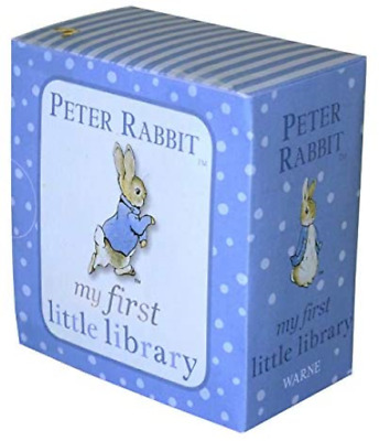 Peter Rabbit My First Little Library PR Baby Books Set by Beatrix Potter