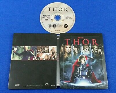 blu-ray THOR *z Steelbook Edition ZAVVI UK Exclusive Marvel REGION FREE