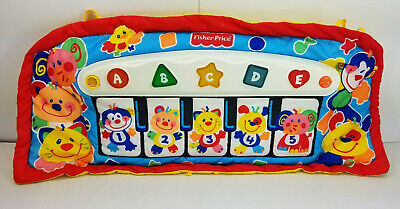 Fisher Price Toy Piano Baby Kick Play Piano Music Lights 2 Modes