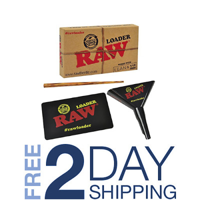 RAW Classic Natural Unrefined Rolling Paper - Cone Loader (Lean & 1 1/4)