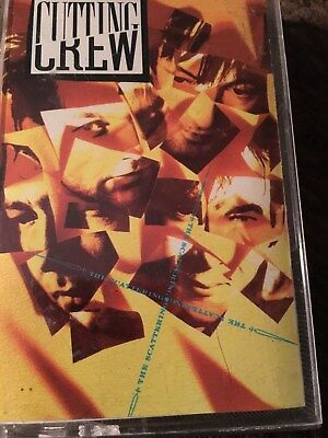 Cutting Crew The Scattering (1989 Cassette) FAST SHIPPING