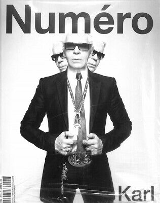 Karl Lagerfeld Special Hommage (1933/2019) / Numero # 8 Mars 2019 # 201