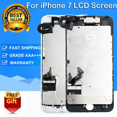 For iPhone7 LCD Display Touch Screen Replacement Digitizer Assembly A1660+Camera