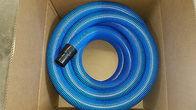 "carpet cleaning vacuum hose 50ft 2"" with cuffs new high pressure quantity"