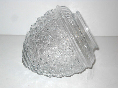 Vintage Clear Glass Acorn Shape Porch / Ceiling Globe Light Fixture Cover Shade