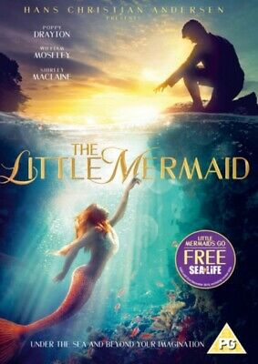 The Little Mermaid (DVD, 2018) *NEW/SEALED* 5060262856543, FREE P&P