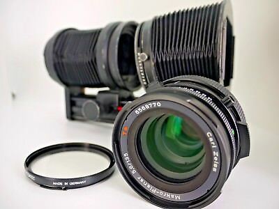 Hasselblad Carl Zeiss Makro-Planar CF 135mm F5.6 T* Lens +  Automatic Bellows
