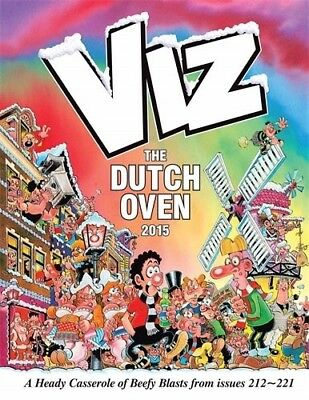 New, The Viz Annual: the Dutch Oven (Annuals 2015), Viz, Book
