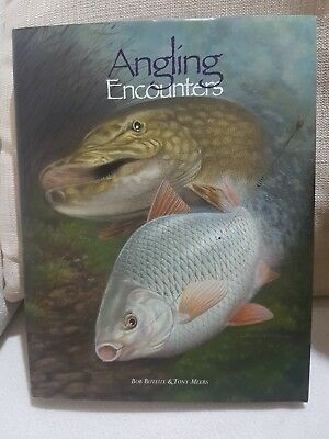Signed x 2  Angling Carp Pike Fishing Book Angling Encounters SOLD OUT Redmire
