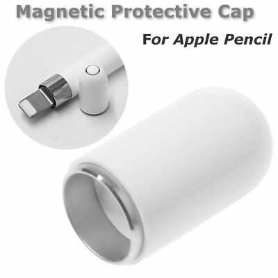 White Pen Cap Replacement Magnetic Protective Case Cap For Apple Pencil BE