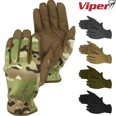 Viper Recon Gloves Tactical Military Hand Guard Mens Army Patrol Knuckles V-Cam