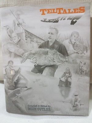 Signed x 25 Limited  Edition Carp Pike Fishing Book Tell Tales Mick Cutler